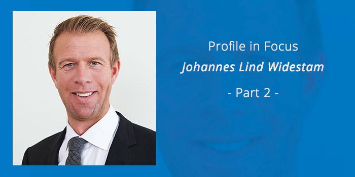 Medtech Profile - Johannes Lind-Widestam - Part 2